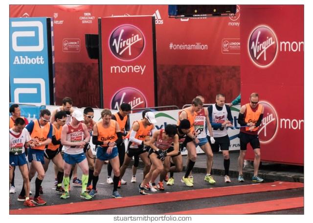 London Marathon Pictures - Ambulant Race Athletes