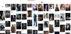 fashion photoshoot moodboard