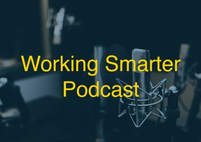 The Working Smarter Podcast Branding