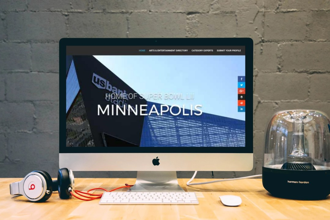 Bold North Arts desktop frame
