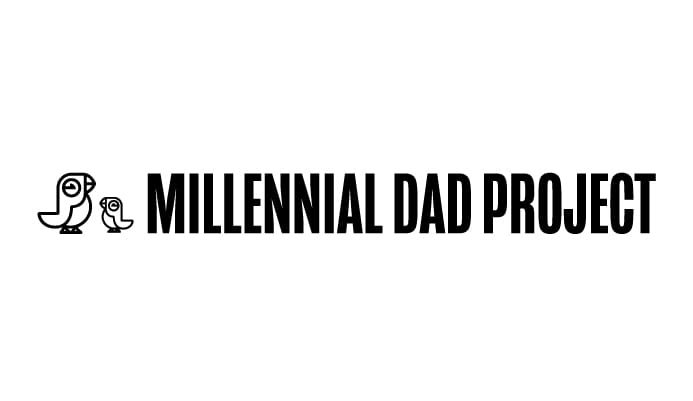 Millennial Dad Project Horizontal logo