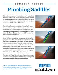 Stübben Tidbit - Pinching Saddles