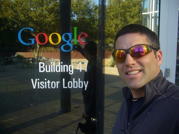 Motorcycle tour of the Google campus
