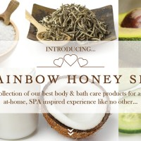 Rainbow Honey Spa Body & Bath Collections NEW