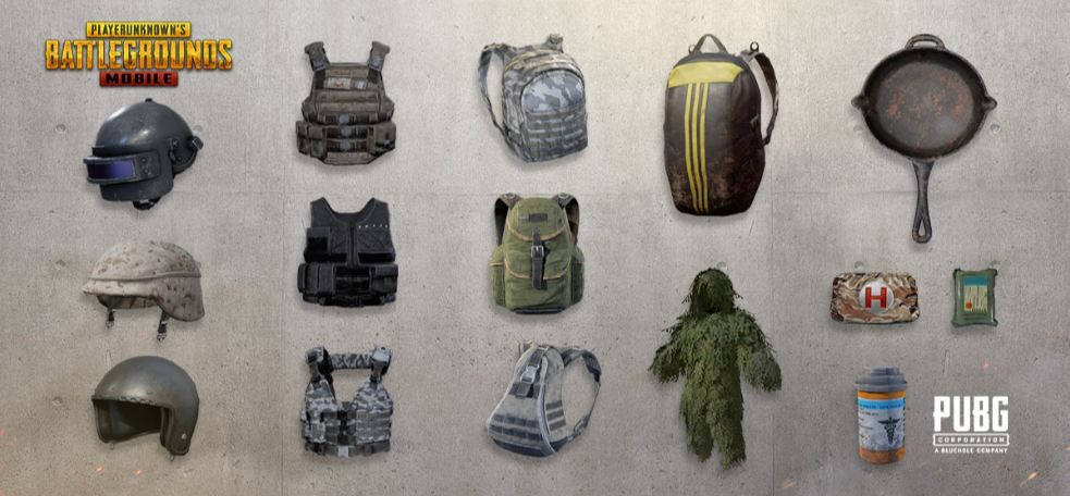 PUBG Mobile Supplies in Erangel Map