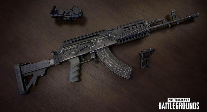 PUBG Mobile Guns Best Weapons