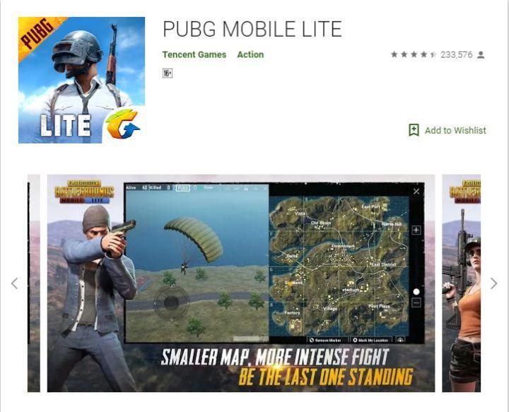 pubg mobile lite tencent games action