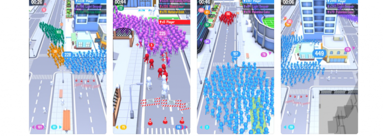 CrowdCity ios game review
