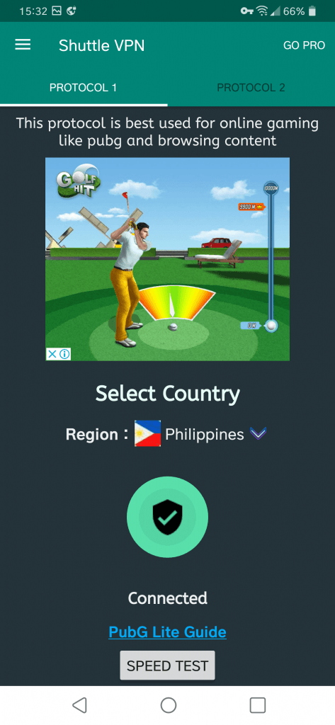 Philippines VPN For PUBG