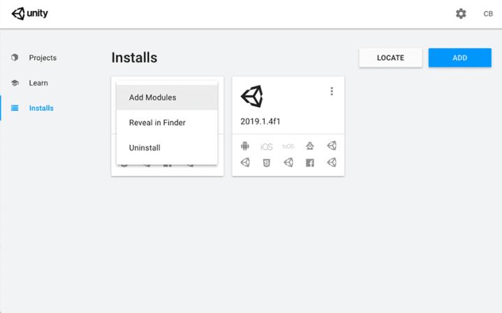 Unity Hub Version Installation