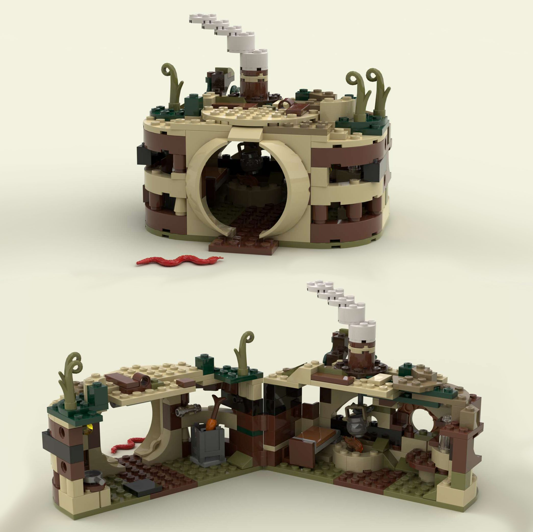 Lego 75208 - Alternative Build: Swamp-hut
