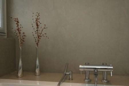 Awesome Glad Gestucte Muren Badkamer Images - House Design Ideas ...