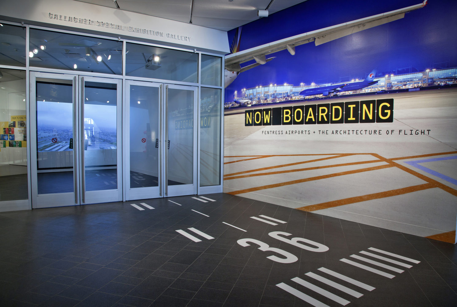 Now Boarding Exhibit About Airports At Denver Art Museum