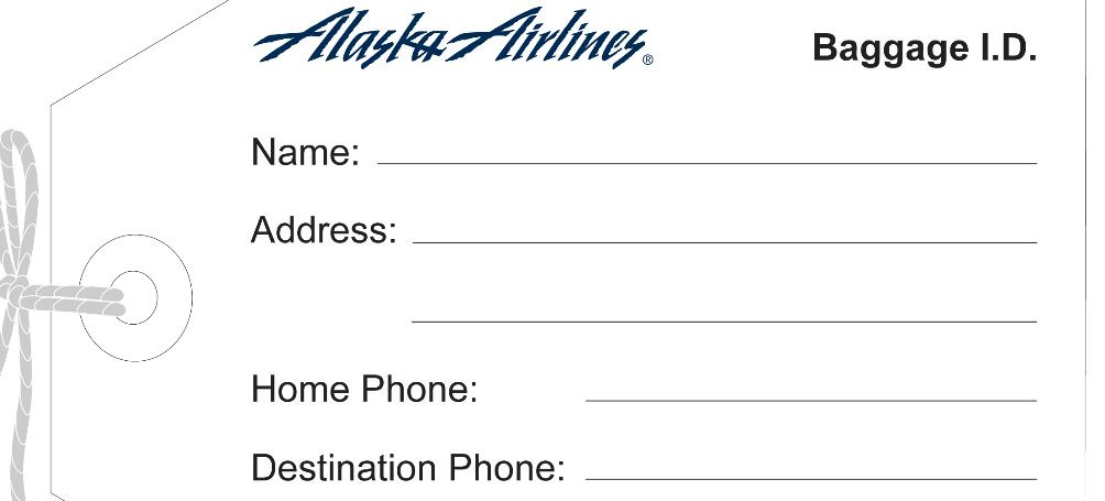 No Fee To Check 1st Bag On Alaska Airlines For 1 Month