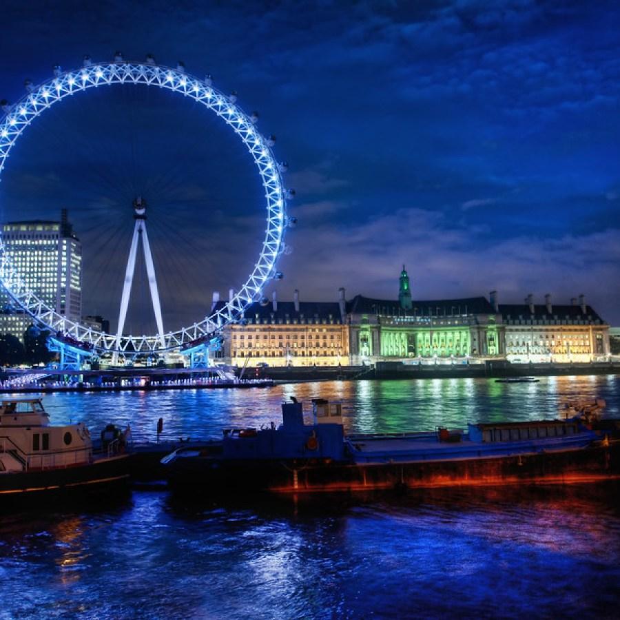 London Eye High Dynamic Range Photo