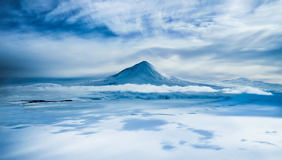 Mount Erebus from the Air