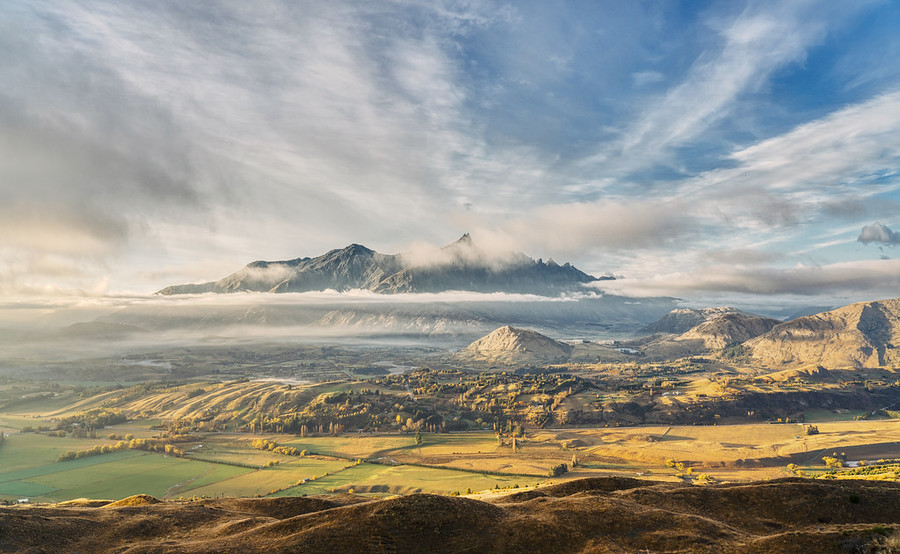 The Remarkables Out of the Mist