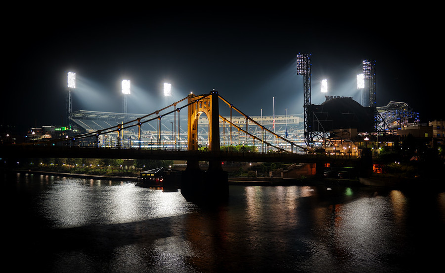 The Ballpark in Pittsburgh
