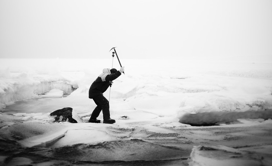 Hacking through the Ice