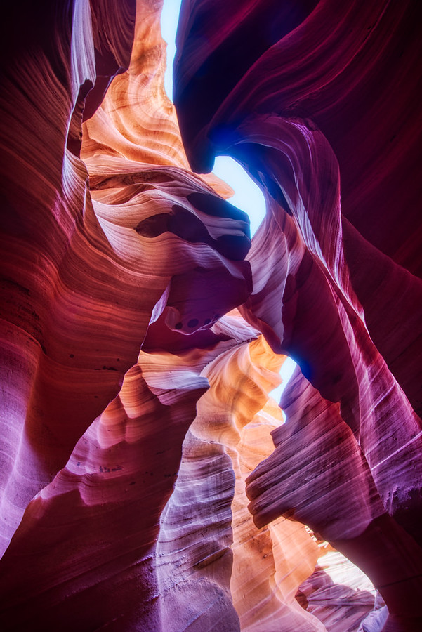 The Slot Canyons