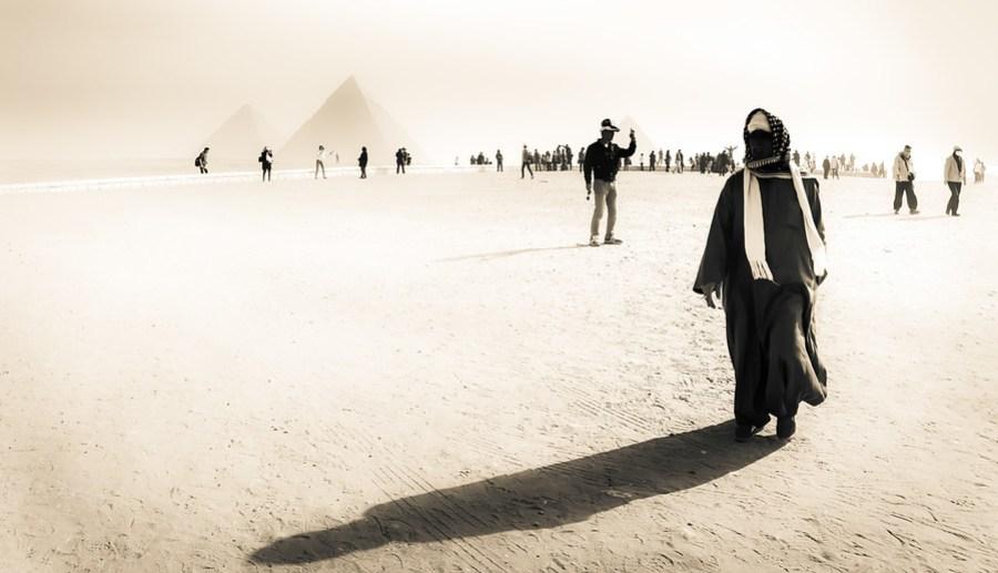 Exploring Around The Pyramids