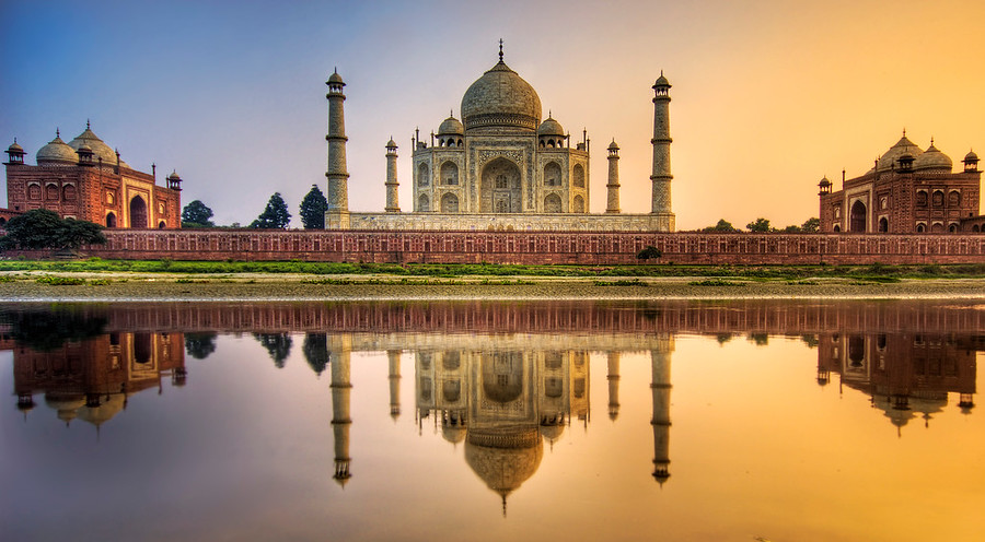 Reflecting on the Taj Mahal