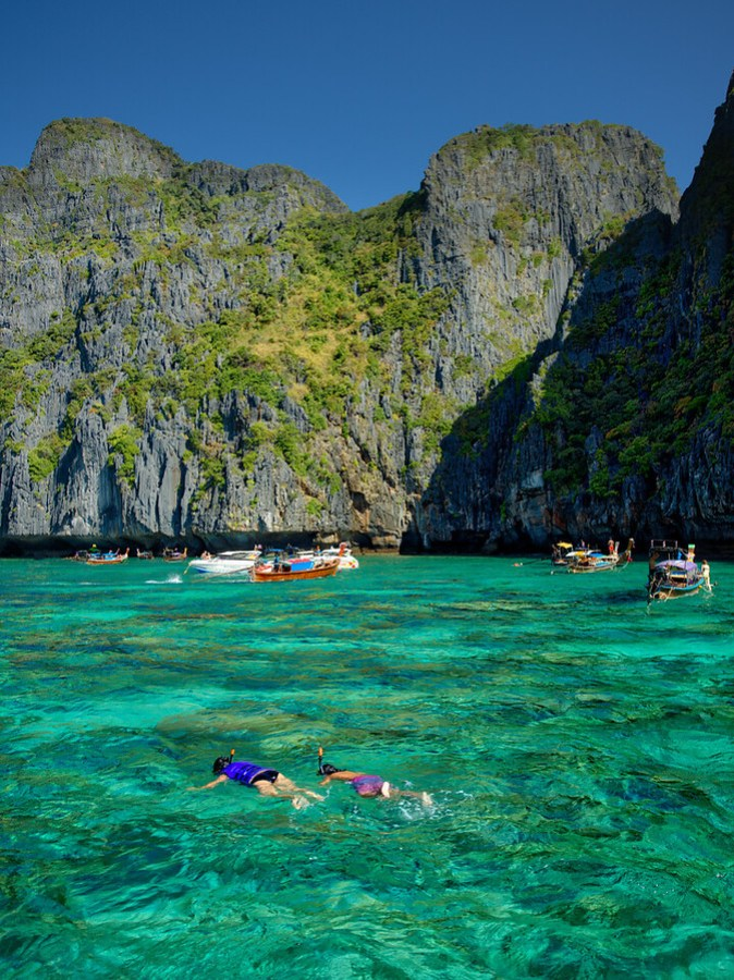 Heading out for a Snorkel Near the James Bond Island – Stuck in Customs