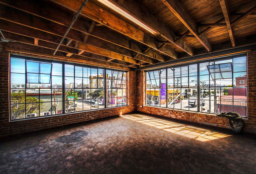 Corner Room with a View… this is next door in the area for future expansion…