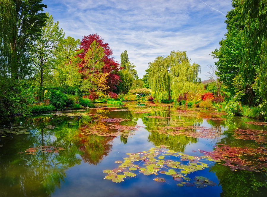 """This is Monet's garden in Giverny, France. Don't forget that if you click the little """"i"""" on Smugmug that you can get all the EXIF."""