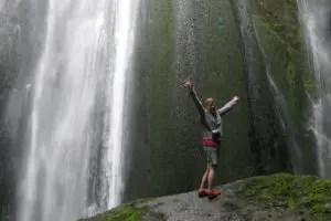 Gljúfrabúi waterfall!