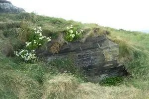 The lair of Grettir, the famous antihero and outlaw featured in the Saga of Grettir.