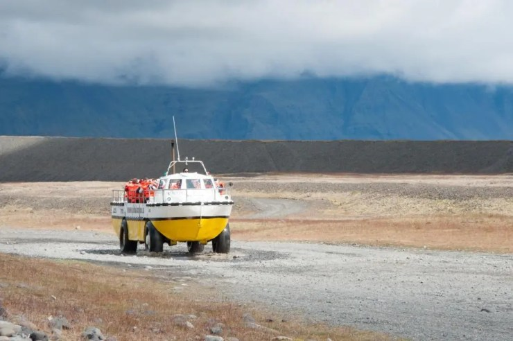 Amphibious Boat takes you to an adventure.
