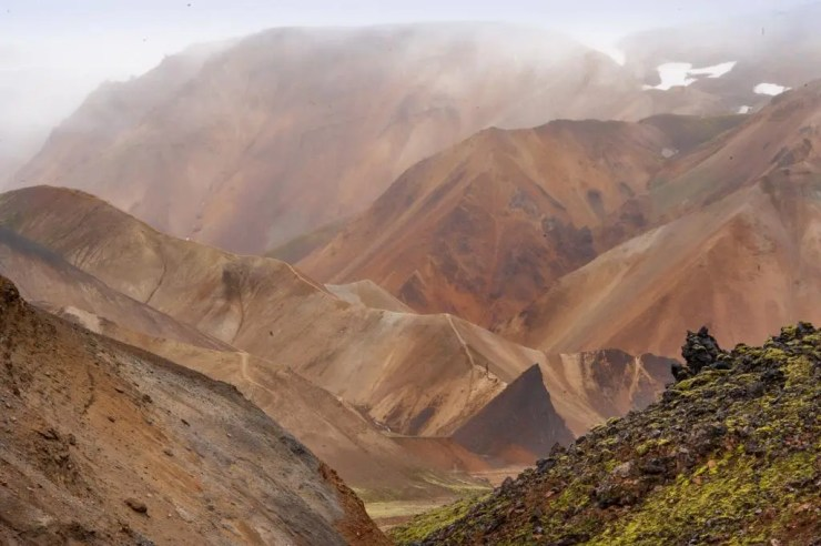 The colours at Landmannalaugar.