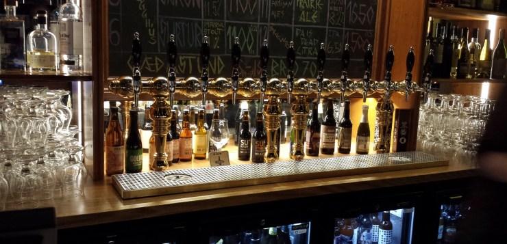 The best beer in Reykjavik – skál!*