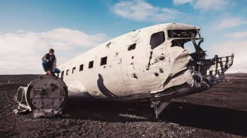 See the Iceland C47 Plane Video about the Crashed skytrain in Iceland.