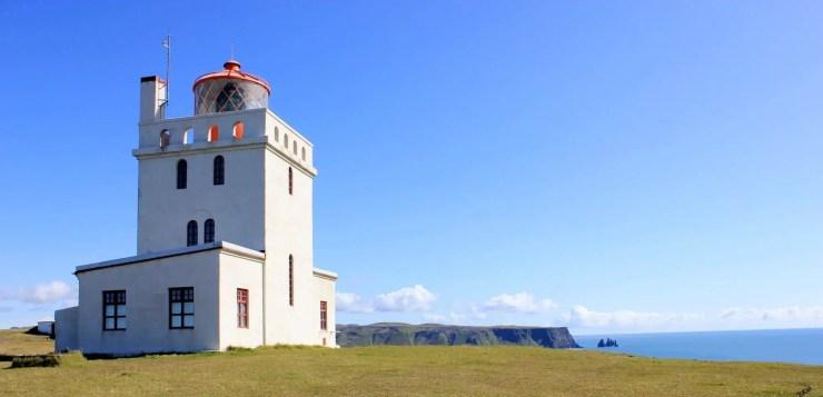 Lighthouse at Dyrholey.