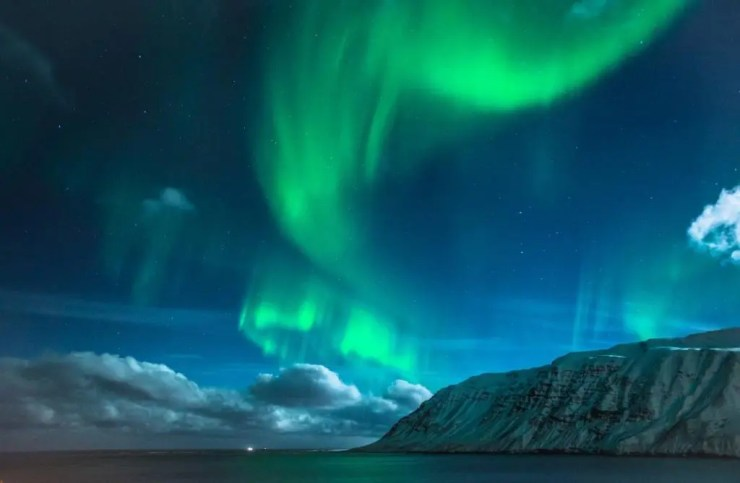 Of course the Northern Lights made an appearance.