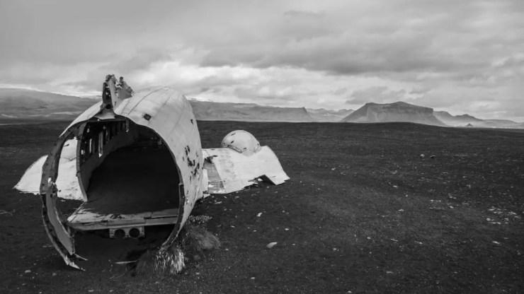 The ever popular plane wreck at Sólheimasandur.