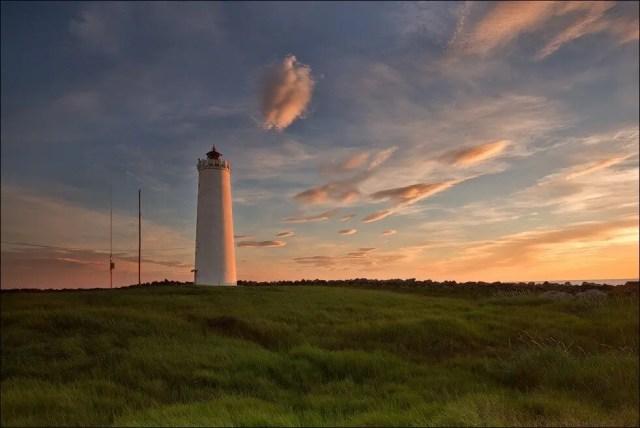 Grótta lighthouse looking pretty great.