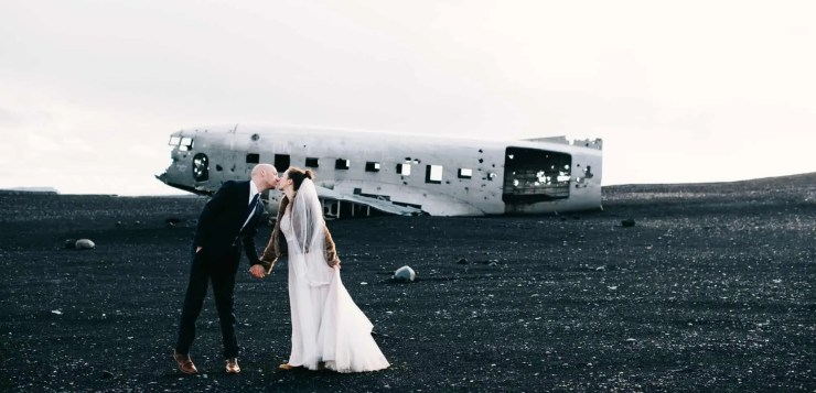 There is nothing like a wedding in Iceland.