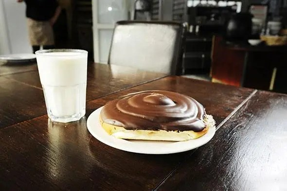 Chocolate rolls and milk. Talk about Icelandic guilty pleasures.