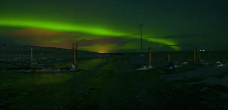 A trip to the Golden Circle, Reykjavik and Black Beach in Iceland. The northern lights put on a show.