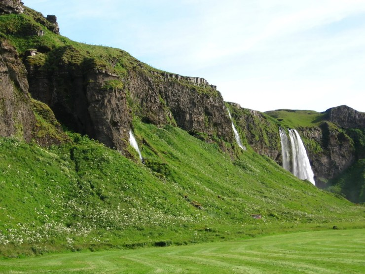 9- Countless waterfalls