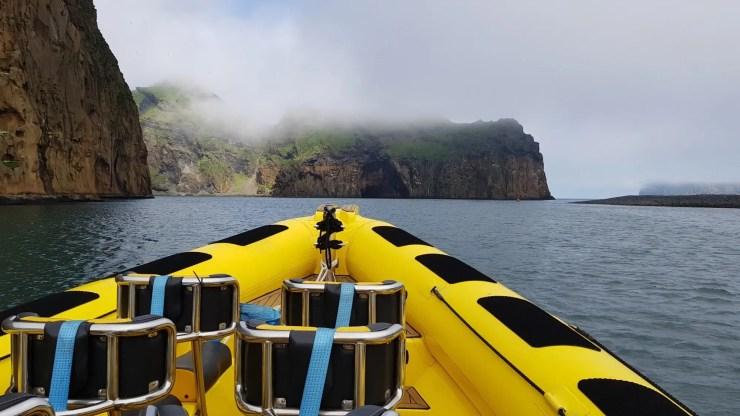 Rib boating - Westman Islands.