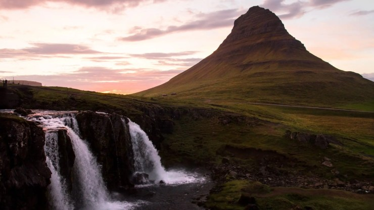 Mt. Kirkjufell in all its glory.