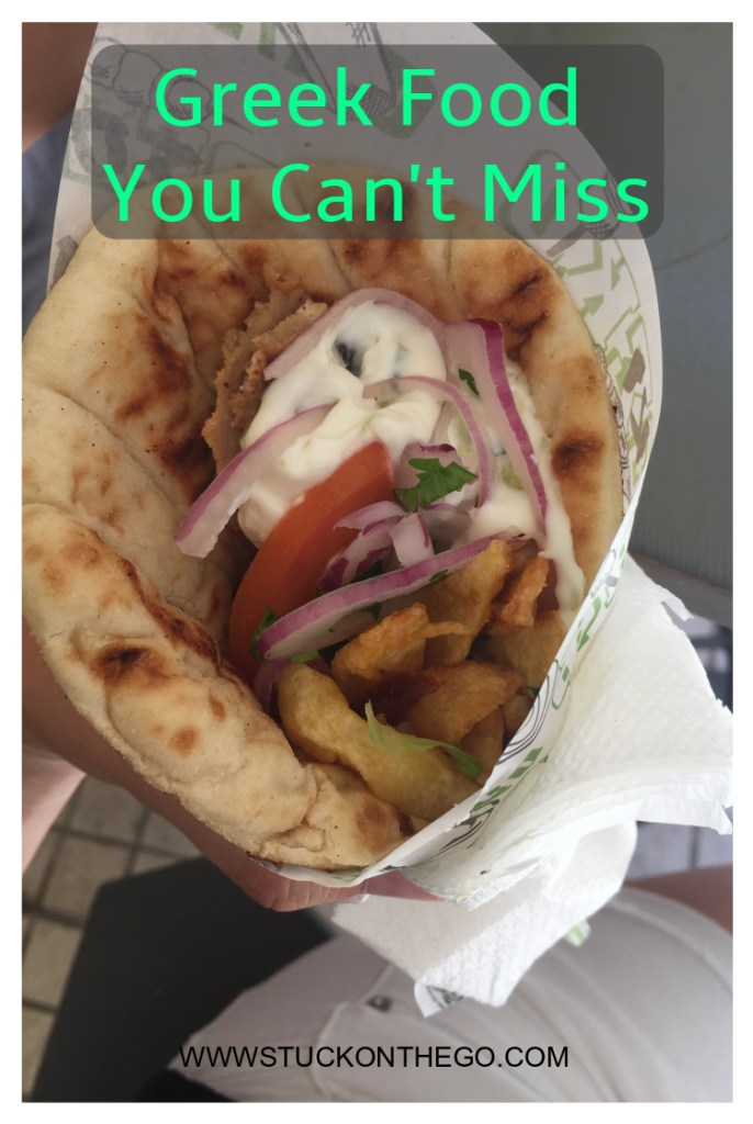 Greek Food You Can't Miss Pin