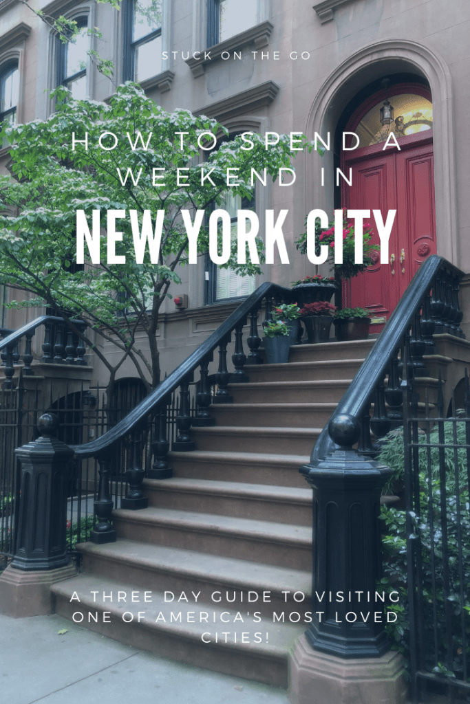 How to spend a weekend in NYC. This 3 day itinerary for NYC will give you things to do in NYC and tips to make the most of your trip!