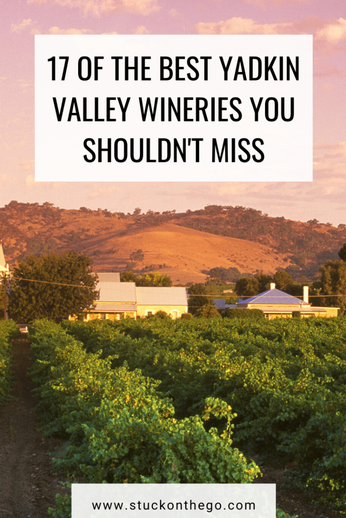 The Yadkin Valley Wineries in North Carolina are just as good as the Napa Valley wineries and they are cheaper! Don't miss these top wineries in the Yadkin Valley! #yadkinvalleywineries #northcarolinawine