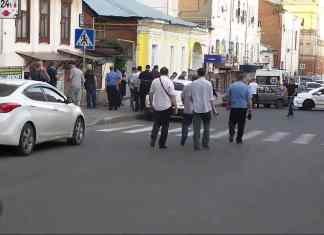 В центре Харькова средь бела дня убили человека (ВИДЕО)