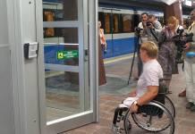 В харьковском метро появился первый лифт для людей с ограниченными возможностями (ВИДЕО)